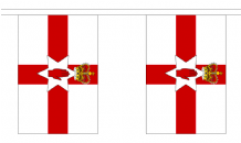 NORTHERN IRELAND BUNTING - 18 METRES 30 FLAGS